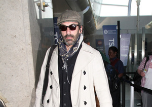 Jon Hamm Faces Cameras After Secret Rehab Stint for Alcohol