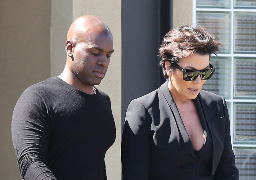 Back On! Kris Jenner and BF Corey Gamble Spotted Lunching in L.A.