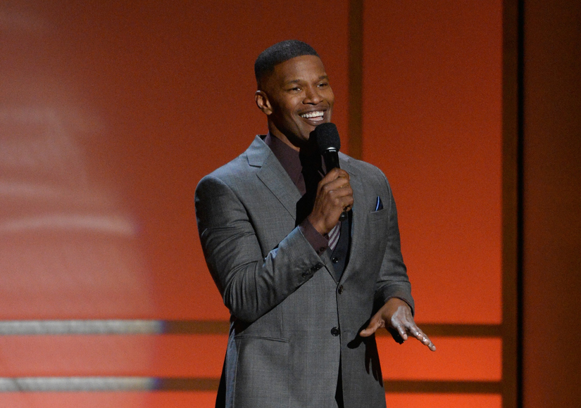 Jamie Foxx Speaks Out About Rescuing Man from Burning Wreck