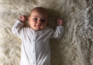 Kourtney Kardashian Shares Adorable First Pic of Baby Reign