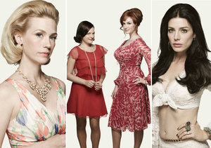Get a Vintage Look Like the 'Mad Men' Beauties
