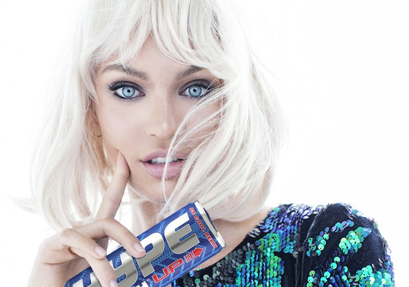 Candice Swanepoel Sizzles in Sexy Photo Shoot for Hype Energy!