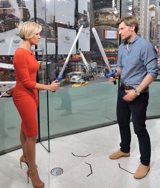 'Game of Thrones' Star Nikolaj Coster-Waldau Talks Season Five, Plus Sword…