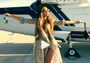 Pics of Queen Bey and the Biebs at Coachella