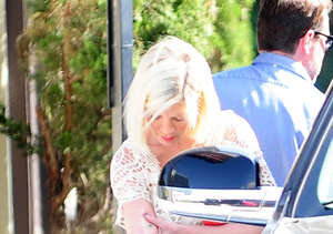 Report: Tori Spelling Rushed to Hospital with Severe Burn