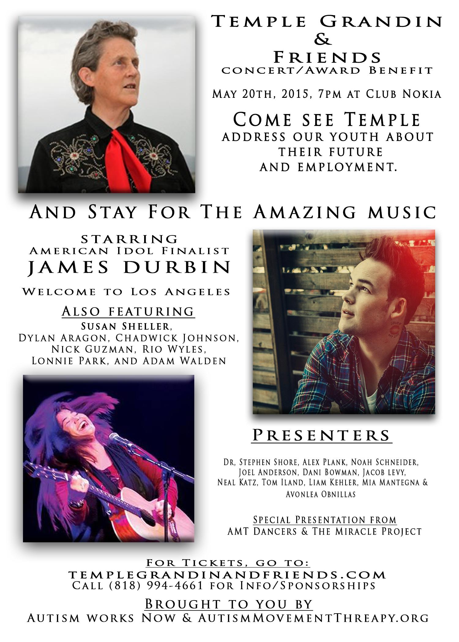 Temple Grandin  Friends Flyer V9