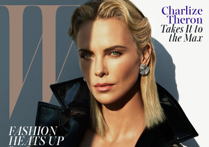 Charlize Theron Sizzles in Sexy Photo Shoot, Tells 20-Somethings 'Don't Hit…