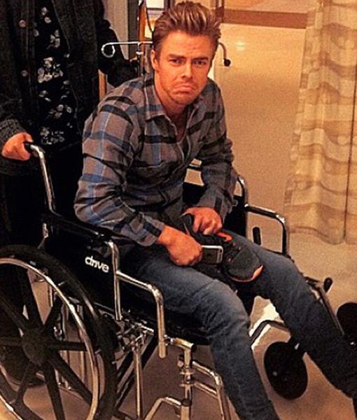 'DWTS' Star Derek Hough Hospitalized! All the Details
