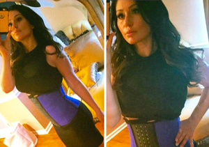 JWoww Shows Off Itty-Bitty Waist in New Instagram Pic