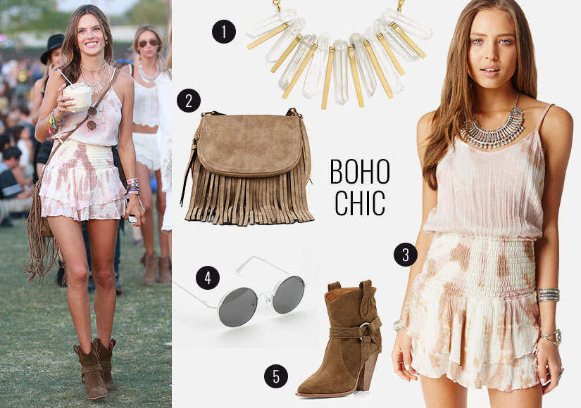 Flirty Rompers and Lots of Fringe! Steal Alessandra Ambrosio's Spring Style