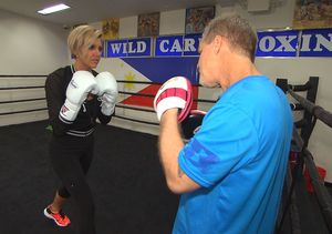 Manny Pacquiao Trainer Freddie Roach Teaches Boxing Tricks