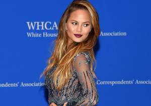 Chrissy Teigen's Wardrobe Malfunction That Caught Everyone's Eye… Including…