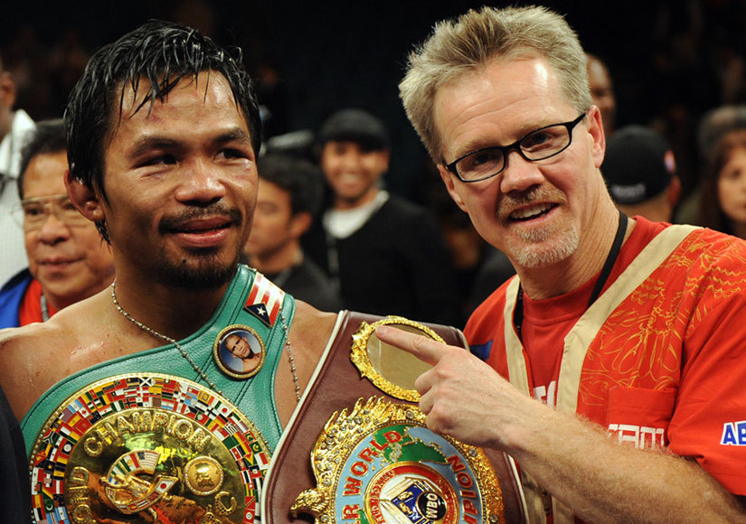 premium selection c55d0 2b710 Manny Pacquiao Trainer Freddie Roach Shares Strategy for Winning  Fight of  the Century