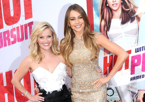 Sofia Vergara and Reese Witherspoon Take Over Hollywood for 'Hot Pursuit'