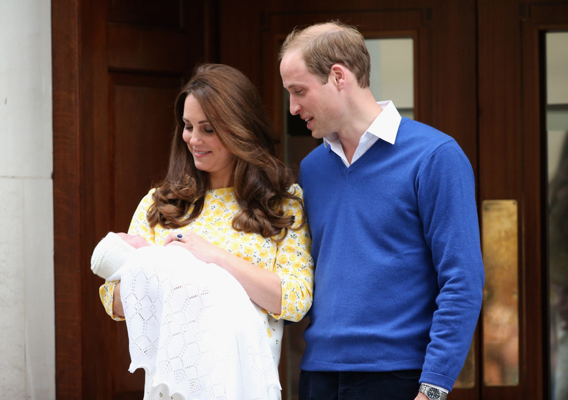 The Princess Spied: William and Kate's Daughter Debuts!