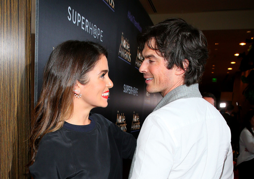 Nikki Reed and Ian Somerhalder's Newlywed PDA Display