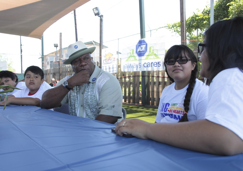 Actor Ving Rhames Volunteers to Make Sure Communities Are Safe and Secure