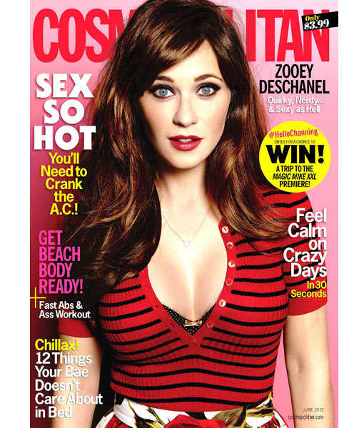 zooey_deschanel_cosmo_cover