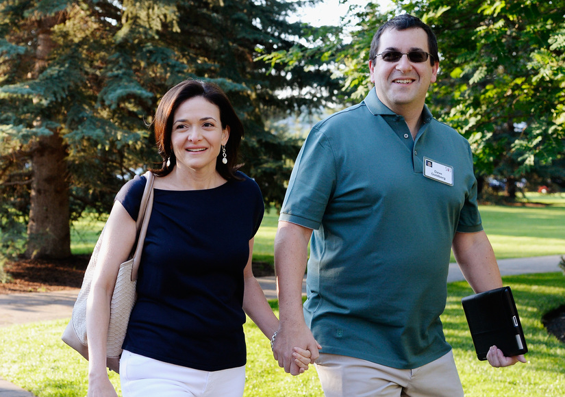 Sheryl Sandberg Says Goodbye to Her Husband in Memorial Service Attended by Hollywood and Tech Elite