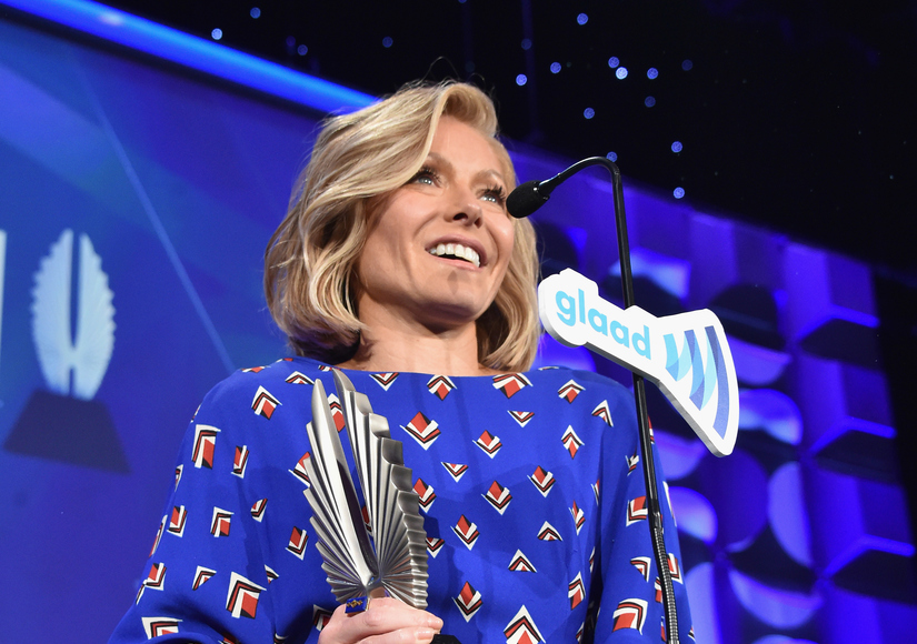 Honored by GLAAD, Kelly Ripa Praises 'Extraordinary' Friend Anderson Cooper