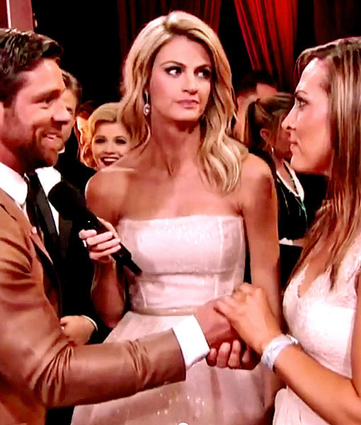 Noah Galloway Defends 'DWTS' Host Erin Andrews' Eye-Rolling Reaction