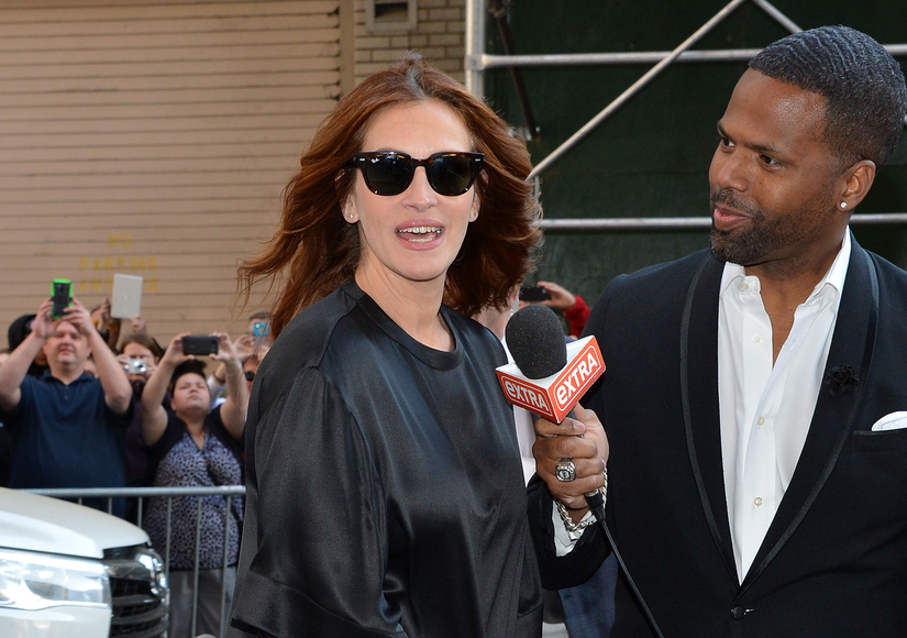 Julia Roberts Is Just the Sweetest! Praises Letterman; Gushes Over George Clooney's Wife Amal