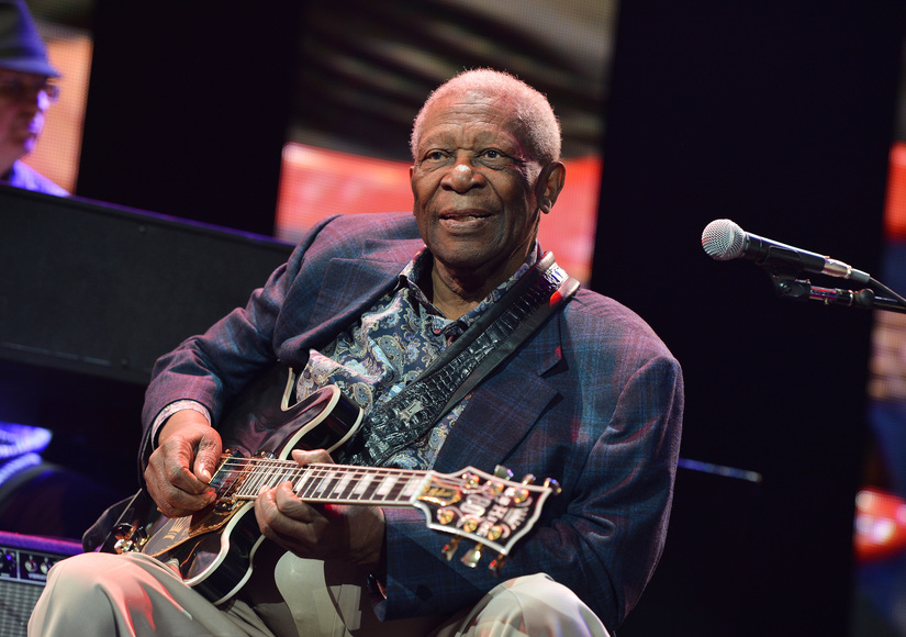 B.B. King, King of the Blues, Dies at 89