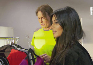 Watch: Bruce Jenner Confesses to Kim Kardashian: 'I Stole Your Outfit'