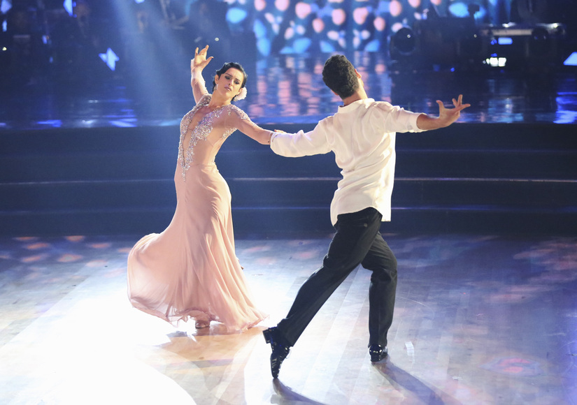 'DWTS': Rumer Willis Earns Perfect Score, Moves Dad to Tears