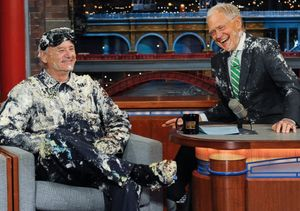 Bill Murray Gives Letterman a Surprisingly Sweet Sendoff on 'Late Show'