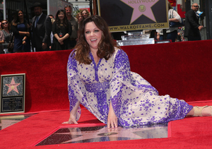 Melissa McCarthy's Slimdown on Display at Hollywood Walk of Fame Ceremony