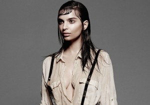 Emily Ratajkowski Poses for Yu Tsai