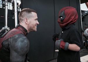 Make-A-Wish Kid Gets to Meet Deadpool