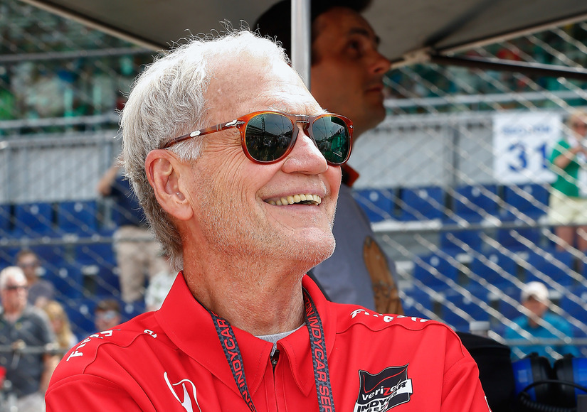 David Letterman Spends First Weekend of Retirement at Indy 500: 'It's the Perfect Place to Be'