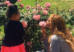 Beyoncé Shares Precious New Pics of Blue Ivy