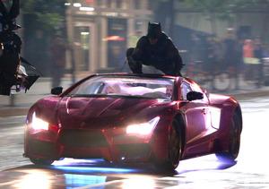 First Look! Batman Battles the Joker in 'Suicide Squad'
