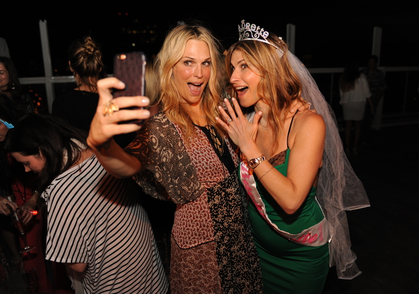 Molly Sims Throws Her BFF a Bachelorette Party to Remember!
