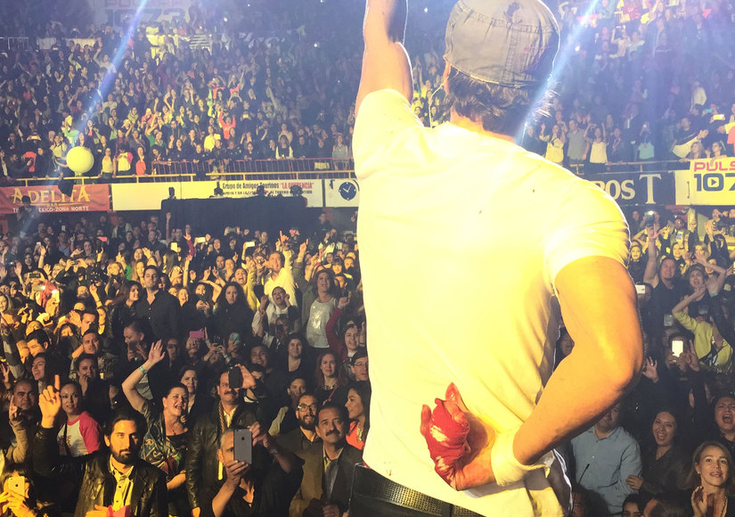Enrique Iglesias Shares Hand Pic After Drone Mishap