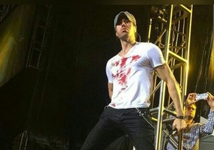 Pics: Enrique Iglesias Seriously Wounded by Drone During Concert, Continues for…