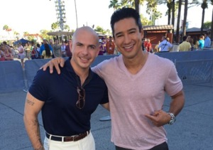 Pitbull Helps Celebrate 25 Years of Universal Studios Orlando!