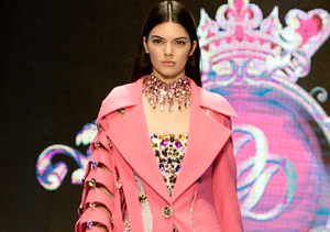 Kendall Jenner Rules the Runway in Turkey