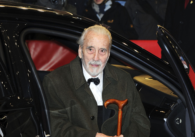 'Star Wars' and 'Lord of the Rings' Actor Christopher Lee Dies at 93