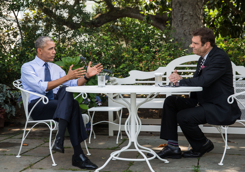 Exclusive! President Obama on Raising Daughters, Paying for His Own Groceries, and Helping Save Our Jerry Penacoli