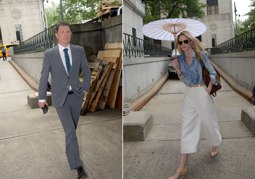 Stephanie March and Bobby Flay Serve It Chilled in Divorce Court