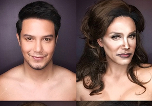 Wowza! Makeup Artist Transforms Into Caitlyn and Kris Jenner