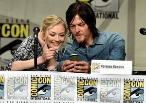 New Couple Alert! 'Walking Dead' Stars Norman Reedus & Emily Kinney Are…