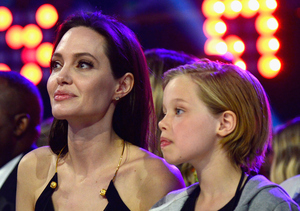 Angelina and Her Daughter Shiloh Take a Special Trip