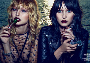 Supermodel Sisters Gigi and Bella Hadid Strip Down for Sexy Photoshoot!