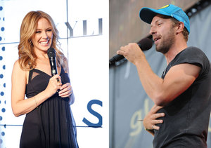 Chris Martin Spied on Late-Night Outing with Kylie Minogue