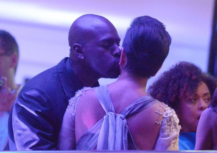 Corey Gamble Kris Jenner Cannes yacht romantic june24 2015 RAMEY EXC KRIS JENNER KIS#200E3A5